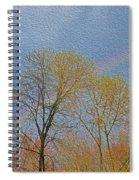Rainbow In Spring Spiral Notebook