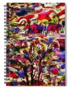 Rainbow Landscape Spiral Notebook