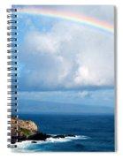 Rainbow Maui Hawaii Spiral Notebook
