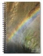 Rainbow Mist Spiral Notebook