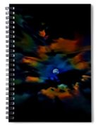 Rainbow Moon Spiral Notebook