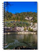Rainbow On The River Spiral Notebook
