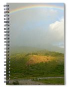 Rainbow Over Boquete Spiral Notebook