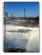 Rainbow Over Canada Spiral Notebook