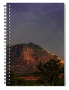 Rainbow Over Sedona  Spiral Notebook