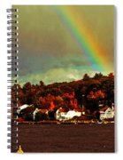 Rainbow Over Winnipesaukee Two Spiral Notebook