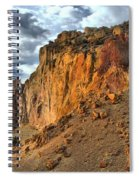 Rainbow Rocks And A River Spiral Notebook