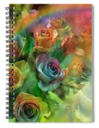 Rainbow Roses Spiral Notebook