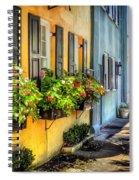 Rainbow Row Spiral Notebook