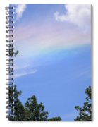 Rainbow Sky Spiral Notebook