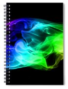 Rainbow Smoke Spiral Notebook