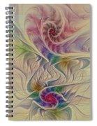 Rainbow Spirals Spiral Notebook