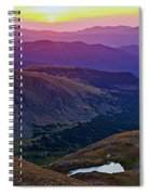 Rainbow Sunrise Spiral Notebook