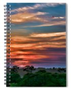Rainbow Sunset Spiral Notebook