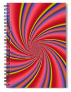 Rainbow Swirls Spiral Notebook