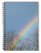 Rainbow Through The Tree Tops Spiral Notebook