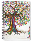 Rainbow Tree Dreams Spiral Notebook