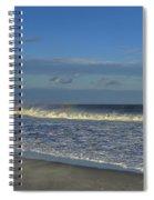 Rainbow Wave Seaside New Jersey Spiral Notebook