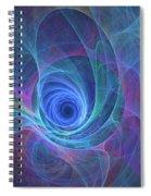Rainbow Whirlpool Spiral Notebook