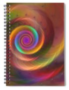 Rainbow Whispers Spiral Notebook