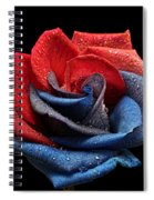 Raindrops On Rose Spiral Notebook