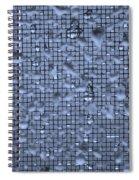 Raindrops On Window IIi Spiral Notebook