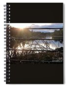 Raindrops To River Sunrise Spiral Notebook