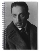 Rainer Maria Rilke Spiral Notebook