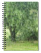 Rainfall Spiral Notebook