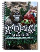 Rainforest Spiral Notebook