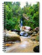Rainforest Stream New Zealand Spiral Notebook