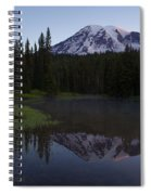 Rainier Awakening Spiral Notebook