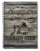 Rainier Beer Spiral Notebook
