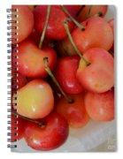Rainier Cherries Spiral Notebook