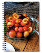 Rainier Cherries - Yummy Spiral Notebook