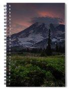 Rainier Fire Mountain Spiral Notebook