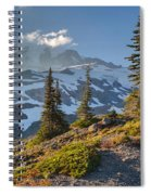 Rainier From Paradise Glacier Spiral Notebook