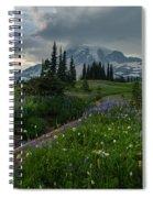 Rainier Meadows Wandering Spiral Notebook