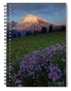 Rainier Morning Cap Spiral Notebook