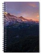 Rainier Soaring Skies Spiral Notebook