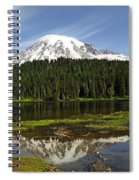 Rainier's Reflection Spiral Notebook