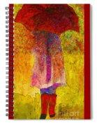 Raining Sunshine Spiral Notebook