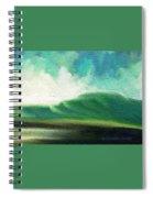 Raining Upward Spiral Notebook