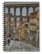 Rainy Afternoon In Segovia Spiral Notebook