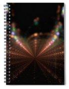 Rainy City Night Spiral Notebook