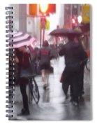 Rainy Corner - New York City Spiral Notebook