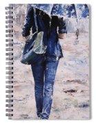 Rainy Day #22 Spiral Notebook