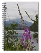 Rainy Day Fireweed Spiral Notebook