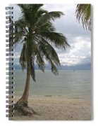 Rainy Day In Paradise Spiral Notebook