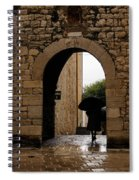 Rainy Day In Provence France Spiral Notebook